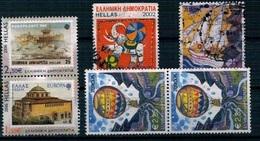 Lot Timbres Europa Grece - Grèce