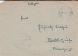 German Feldpost WW2: Luftkriegschule 5 In Weidengut P/m Weidengut 22.12.1943 - Letter Inside Written On A Funkbereicht - Seconda Guerra Mondiale