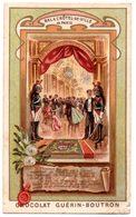 Chromo Guérin-boutron. Bal à L'Hôtel De Ville De Paris. - Guerin Boutron