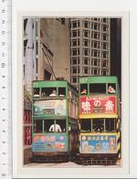 Tramway à Hong-Kong  Transport //  CP 2/301 - Chine (Hong Kong)