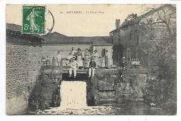 SOULAINES 1908 CHUTE Les DHUYS Coll. George En Champagne AUBE Pr Ville Sur Terre Bar Dienville Brienne Le Château Troyes - France