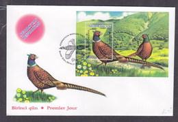Azerbaïjan 2000 Pheasants FDC - Azerbaijan