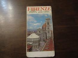 ITALIE FIRENZE PLANTA DELLA CITTA - Europe