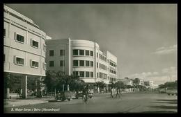MOÇAMBIQUE - BEIRA - Rua Major Serpa ( Ed. M. Salema & Carvalho Lda)   Carte Postale - Mozambique