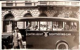 Magyar - Hongrie Sightseeing Car (animation) - Hongrie
