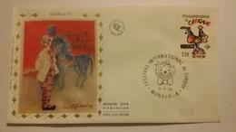 MONACO ..1°  Jour.d'émission..FDC ..1979 .. VI  FESTIVAL INTERNATIONAL DU CIRQUE - Joint Issues