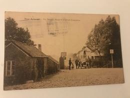 """Carte Postale Ancienne Heer Agimont La Douane Belge Et Le """"Café Français"""" - Hastière"""