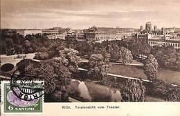 Latvia - Riga -Totalansicht Vom Theater (1929) - Lettonie