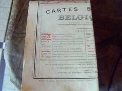 Carte Routiere Blondel  Belgique   1. 320 .000 Eme - Cartes Routières