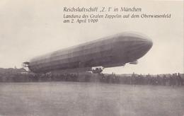 169/ Verzameling Van 16 Kaarten, Zeppelin - Cartes Postales