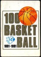 PALLACANESTRO - 1991  - ADESIVO / AUTOCOLLANT CENTENARIO DEL BASKETBALL - Adesivi