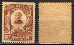HAITI - 1904 -  PRESIDENTE PIERRE NORD-ALEXIS - MH - Haiti