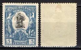 HAITI - 1904 -  PIERRE D. TOUSSAINT - MH - Haiti
