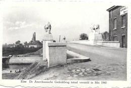 Eine NA1: De Amerikanische Gedenkbrug Totaal Vernield In Mei 1940 - Oudenaarde