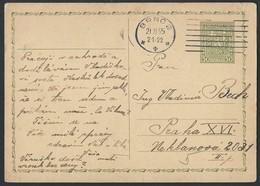 6ch.Postcard. Post 1935. Brno Prague. First Czechoslovak Republic. - Tchécoslovaquie