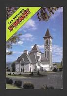 ST BENOÎT DU LAC - QUÉBEC - ABBAYE DE ST BENOÎT DU LAC - FROMAGES ST BENOÎT - SORTES DE FROMAGES AU VERSO - PAR J.CÔTÉ - Quebec