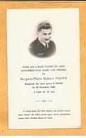 FAIRE PART AVIS DECES MILITAIRE SERGENT PILOTE AVIATEUR   AVIATION   GUERRE ALGERIE ORAN 1956 - Documents
