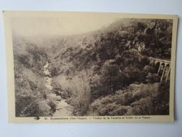 Eymoutiers. Viaduc De La Varache Et Vallee De La Vienne. Hirondelle 28 - Eymoutiers