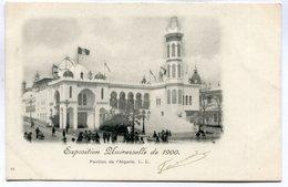 CPA - Carte Postale - France - Paris - Exposition Universelle De 1900  - Pavillon De L'Algérie (DD7198) - Exhibitions