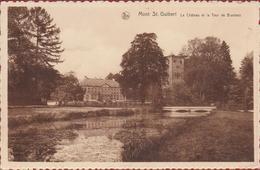 MONT-SAINT-GUIBERT Le Château Et La Tour De Bierbais Kasteel Waals-Brabant (En Très Bon Etat) (In Zeer Goede Staat) - Mont-Saint-Guibert