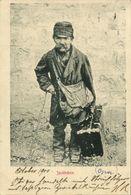 Little Jacob, Jacöbchen, Old Jewish Man With Dwarfism (1900) JUDAICA Postcard - Jewish