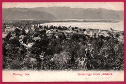 Montego Bay - Greetings From Jamaica - Jamaique - Plage - Mer - Vue Générale - Jamaïque