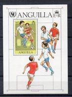 ANGUILLA   Timbre Neuf ** De 1981  ( Ref 6074 )  Enfance - Sport - Football - Anguilla (1968-...)