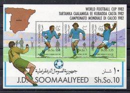 SOMALIE   Timbres Neufs ** De 1982  ( Ref 6074 A)   - Sport - Football - Somalie (1960-...)
