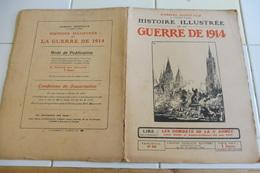 59-Histoire Illustrée Guerre 1914- Houplons ,Collège St Joseph Virton Ethe Longwuy-Bas Vauban Cons La Grandville Chiers - Revues & Journaux