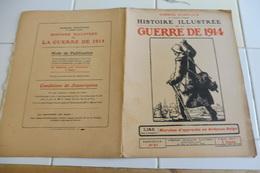57-Histoire Illustrée Guerre 1914-Belgique Ardennes Longuyon Bombardé-Ruines Virton, Orval Saint Hubert Vresse Bouillon - Revues & Journaux