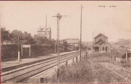 Olloy La Gare Station Statie  RARE ZELDZAAM (En Très Bon Etat) (In Zeer Goede Staat) Viroinval Namur - Viroinval