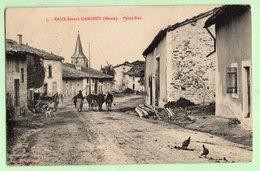 VAUX Devant DAMLOUP , Petite Rue - France