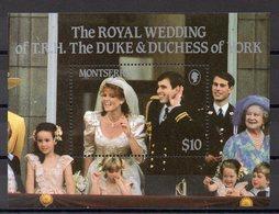 MONTSERRAT Timbre Neuf ** De 1986   ( Ref 6084)   Famille Royale - Mariage - Guinée (1958-...)