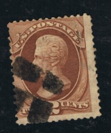 1870 14. Juli Andrew Jackson Mi US 37W Sn US 135  Yt US 40a Stamped O - 1847-99 General Issues