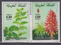 MAROC      1984          N    967 / 968           COTE    2 , 00  EUROS              ( 116 S ) - Maroc (1956-...)