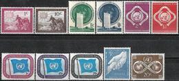 1951 - USUAL STAMPS - Michel Nr. 1-11 = 9.50 € - Ungebraucht