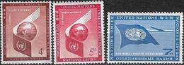 1957 - AIR MAIL STAMPS - Michel Nr. 59-61 = 0.90 € - Ungebraucht