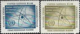 1958 - INTERNATIONAL ATOMIC ENERGY AGENCY - Michel Nr. 66-67 = 0.50 € - Ungebraucht