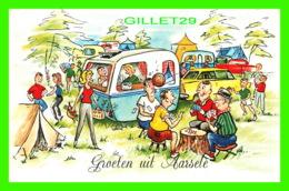 AARSELE, BELGIQUE - GROETEN UIT AARSELE - JOY OF CAMPING - TRAVEL IN 1987 - - Tielt