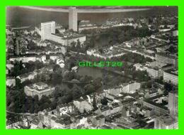 DUSSELDORF, GERMANY - PARTIE AM SCHWANENSPIEGEL MIT LANDTAG - TRAVEL IN 1969 - - Duesseldorf