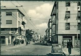 CARTOLINA - CV1341 MESTRE (Venezia VE) Via Piave, FG, Viaggiata 1957, Ottime Condizioni - Venezia