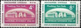 1959 - FLUSHING NEW YORK - Michel Nr. 76-77 = 0.50 € - Ungebraucht