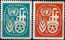 1959 - ECONOMIC COMMISSION FOR EUROPE - Michel Nr. 78-79 = 0.70 € - New York -  VN Hauptquartier