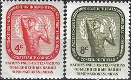 1959 - THUSTEESHIP COUNCIL - Michel Nr. 80-81 = 0.60 € - Ungebraucht