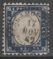 ITALIA 1862 - Effigie 20 C.          (g5468) - 1861-78 Vittorio Emanuele II