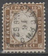 ITALIA 1862 - Effigie 10 C.          (g5469) - 1861-78 Vittorio Emanuele II