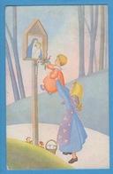 Fillette Enfant Madonna Sign.Soffiantini - Bambini