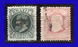 1882 - 1884 - Brasil - Sc. 83 - 84  - BR- 271 - Brasil