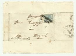 FRANCOBOLLO DA 9  KREUZER KITZBICHL  1852  SU FRONTESPIZIO - Oblitérés