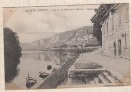 9AL275 LE PETIT ANDELY VUE SUR LA SEINE ET LA COTE DE LA VACHERIE   2 SCANS - Les Andelys